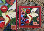 Catch-All Tray - Small Square -Hummingbird
