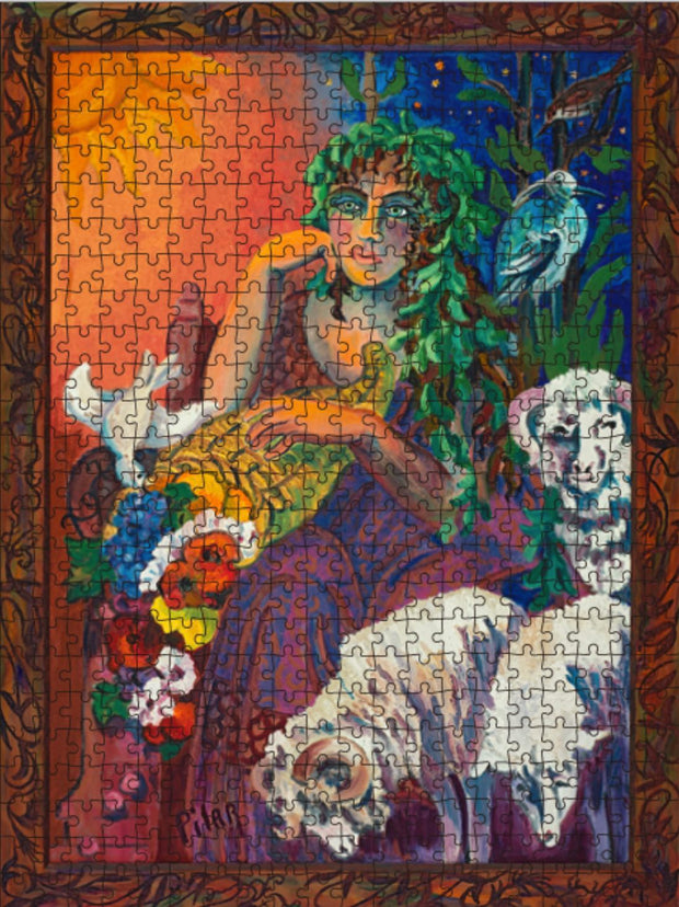 "Jigsaw Puzzle, ""Mother Earth"""