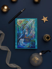 "Greeting Cards, ""Submerged Cathedral"" Holiday Card Box of Six"