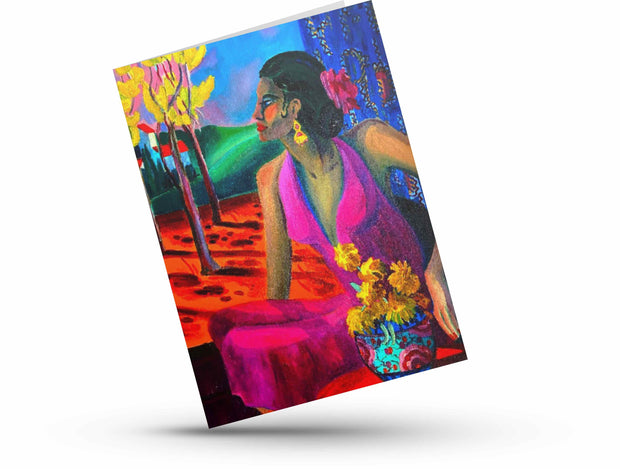 "Greeting Card, ""Tarde Soleada"""
