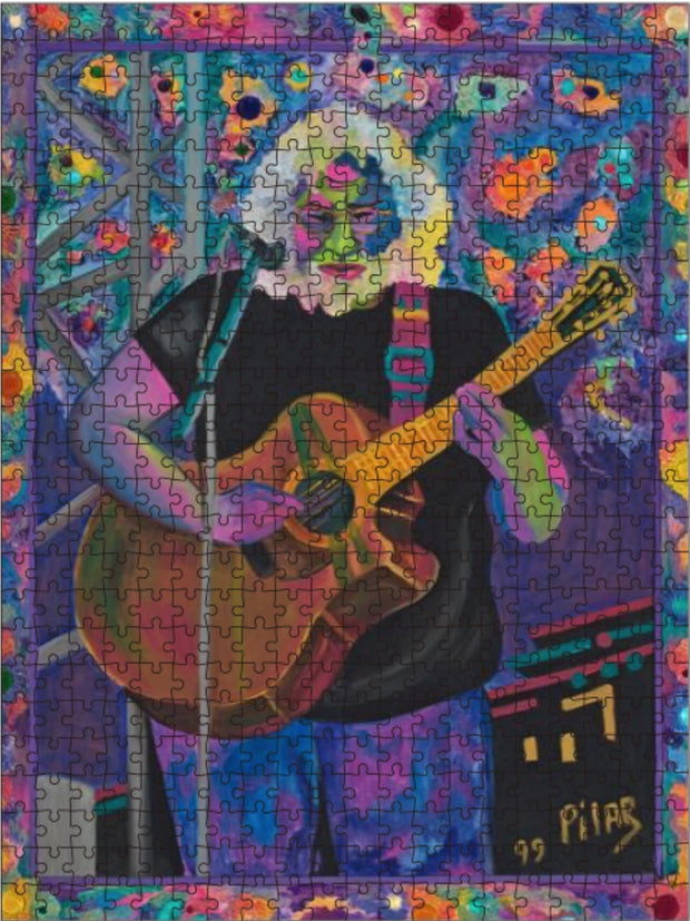 "Jigsaw Puzzle, ""Jerry Among the Stars"""