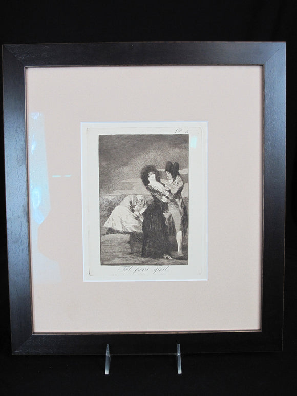 Francisco GOYA Framed