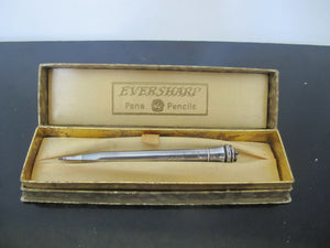 Vintage EVERSHARP Sterling Silver Mechanical Pencil London 1938 in Gift Box
