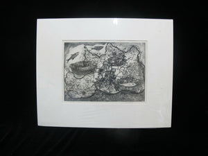 CHARLES HEANEY Oregon Signed Etching Limited Edition THE NET