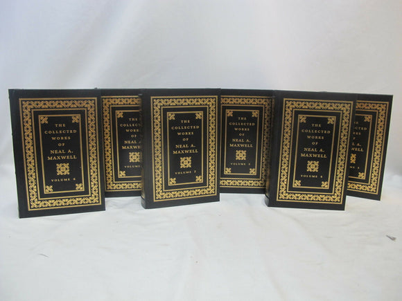 The Collected Works of NEAL A. MAXWELL Volume 1-6 Hardcover LDS Mormon