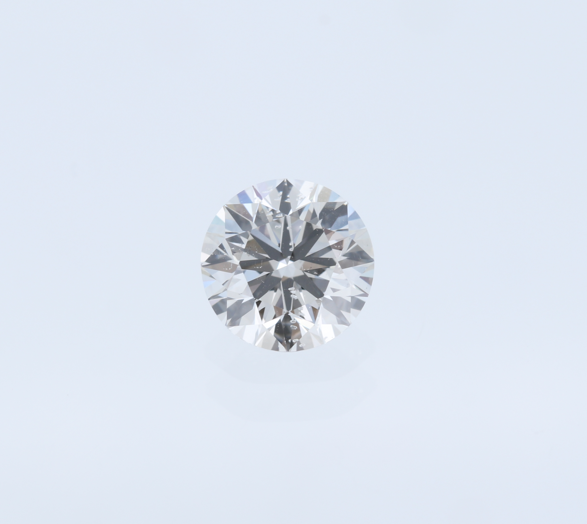 Round Brilliant Cut GIA Certified Diamond - 0.91 cts