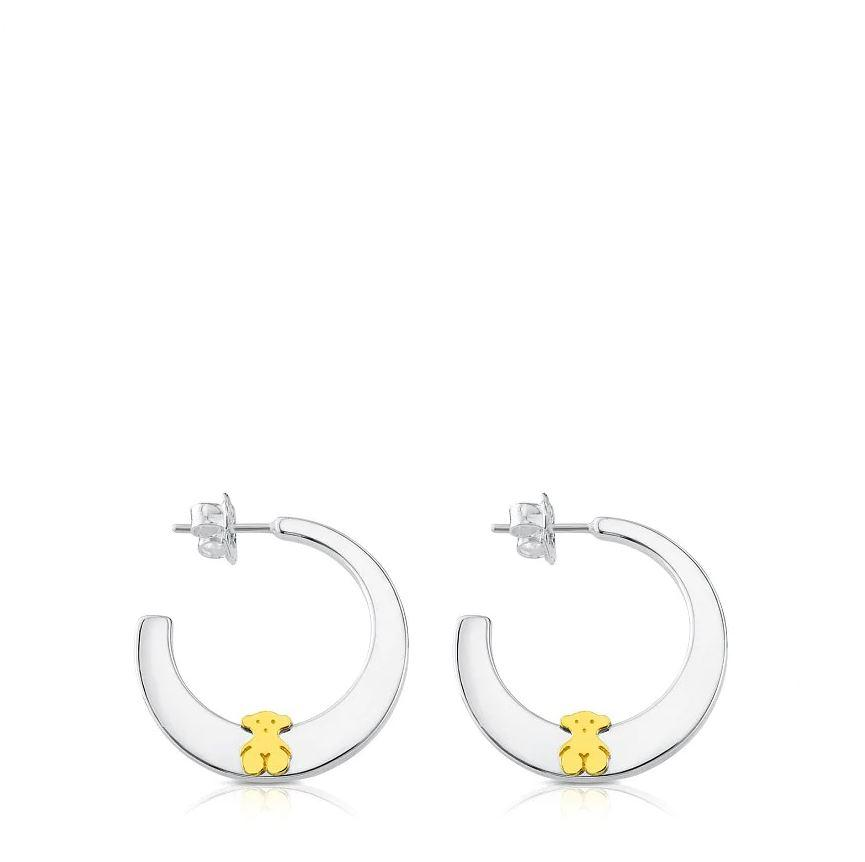 Vermeil TOUS Sweet Dolls Hoop Earrings