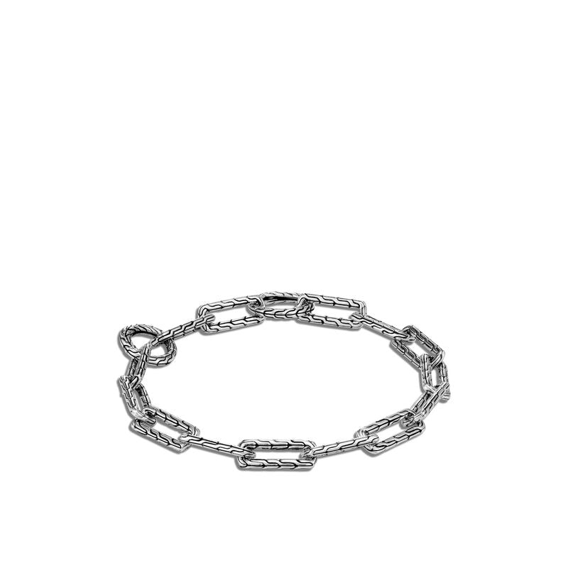 Long Link Amulet Connector Bracelet