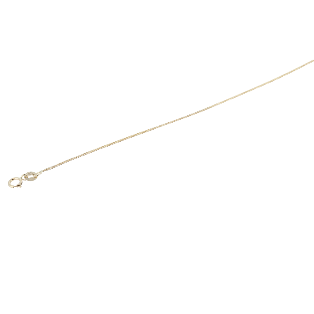 14K Yellow Gold Delicate Wheat Link