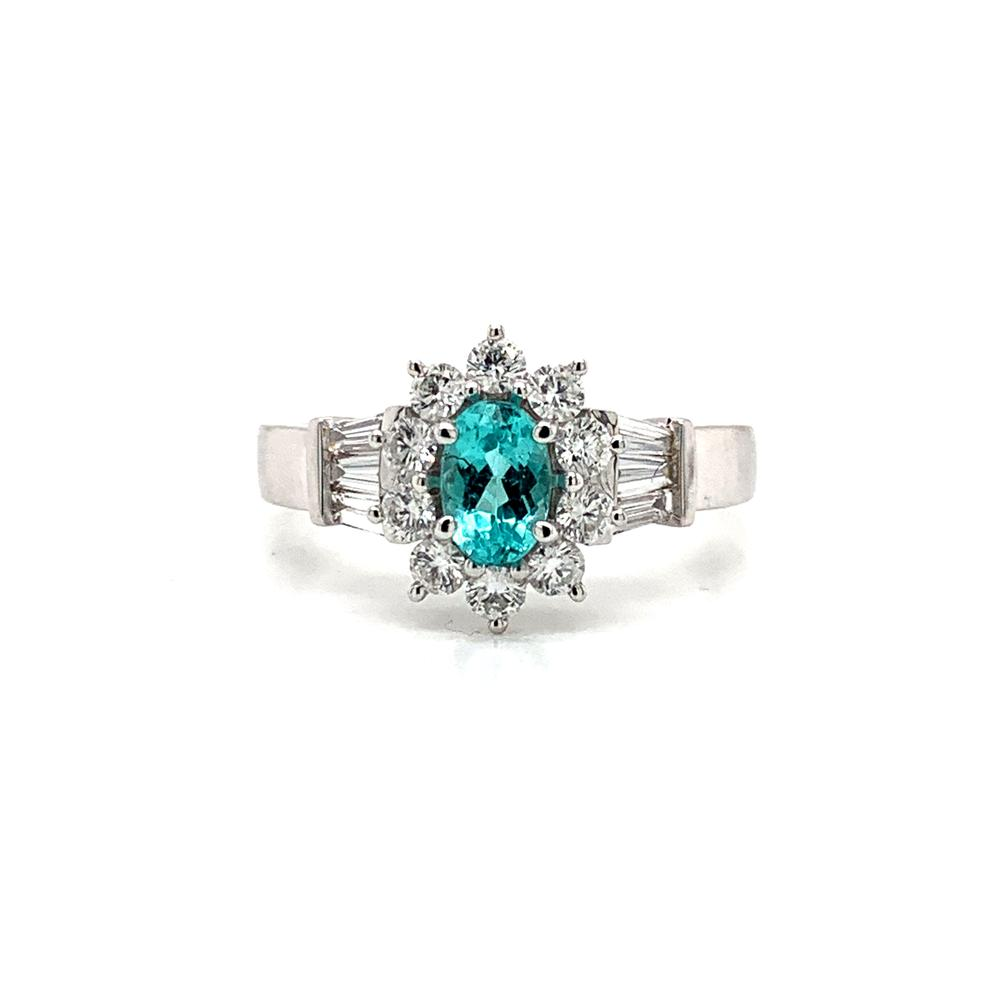 Paraiba Tourmaline with GIA Report