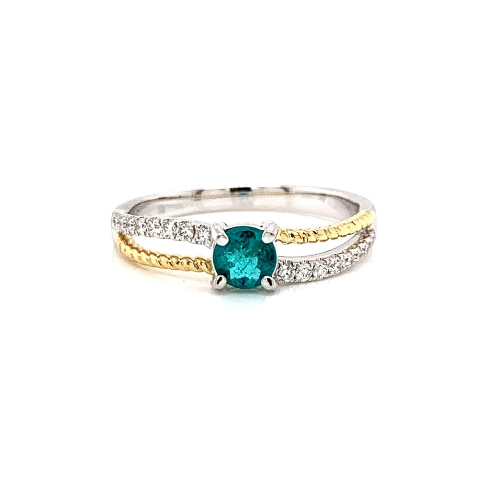 Brazilian Paraiba Tourmaline with GIA Report