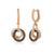14k Rose Gold Chocolatier Earrings