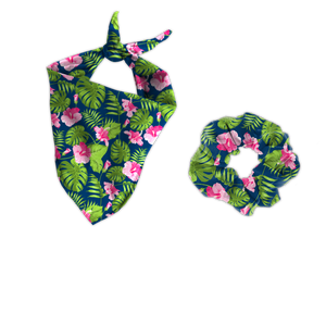 "Buddy Bandana Set ""Tropicale"""