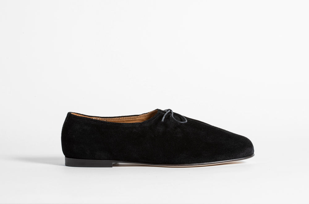 Load image into Gallery viewer, MATT BLACK SUEDE
