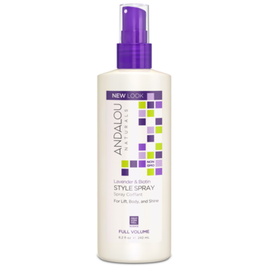 ANDALOU naturals Lavender & Biotin Full Volume Style Spray 242ml