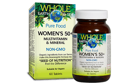NF - Whole Earth & Sea Women 50+ Multivitamin