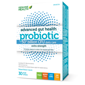 Genuine Health Advanced Gut Health Probiotic 50 billion CFU
