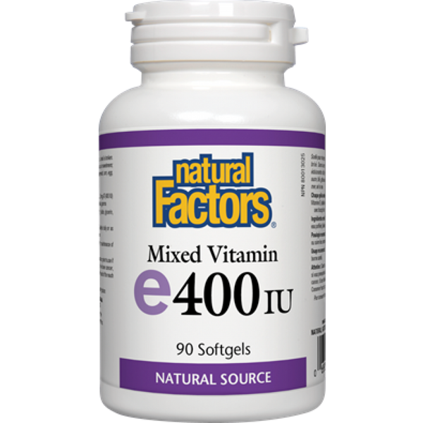 Natural Factors Mixed Vitamin E 400IU