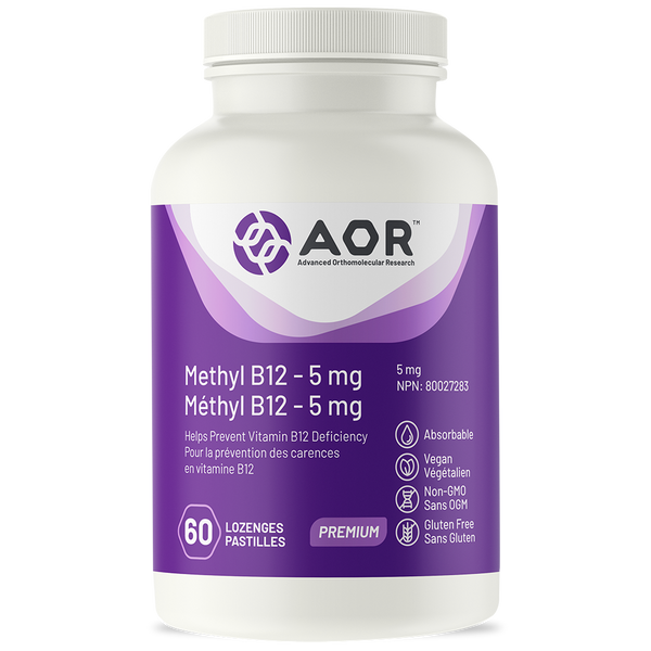 AOR Methylcobalamin 60 lozenges