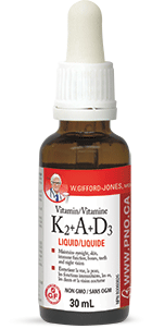 Vitamin K2 + A + D3 by W. Gifford-Jones, MD