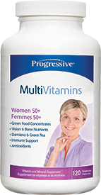 Progressive MultiVitamins Women 50+