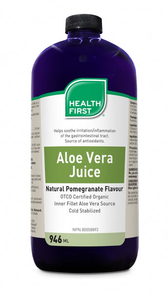 Health First Aloe Vera Juice 946 ml