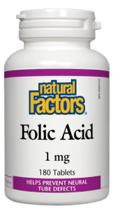 Natural Factors - Folic Acid