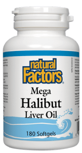 Natural Factors - Mega Halibut Liver Oil