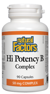 Natural Factors Hi Potency B Complex
