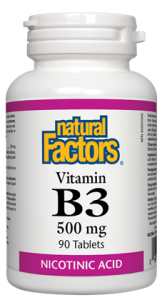 Natural Factors B3 Niacin