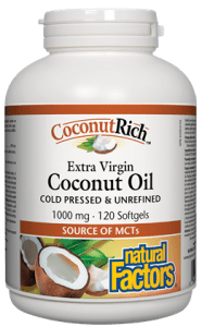 Natural Factors Coconut Oil