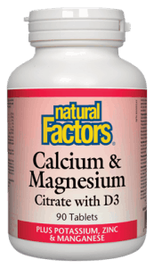 Natural Factors Calcium Magnesium Citrate with D