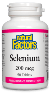 Natural Factors - Selenium 200mcg