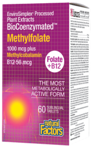 Natural Factors - Biocoenzymated Methylfolate
