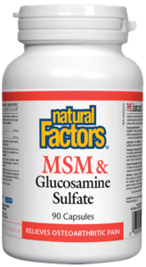 Natural Factors MSM & Glucosamine