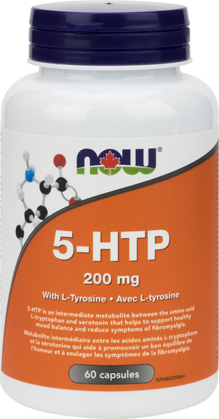 NOW 5 HTP With Tyrosine