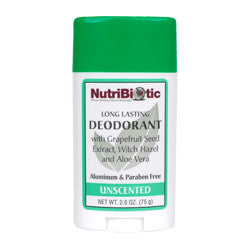 Nutribiotic Unscented Deodorant