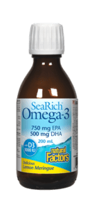 SeaRich Omega 3+D (Lemon)