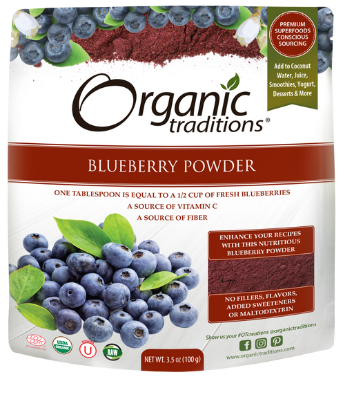 Organic Traditions - Blueberry Powder