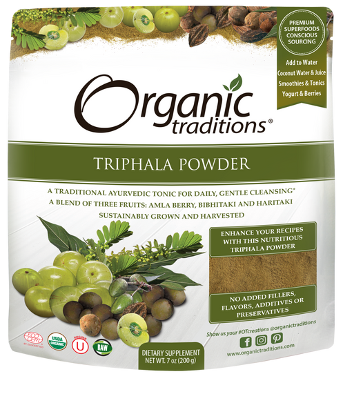 Organic Traditions -Triphala Powder