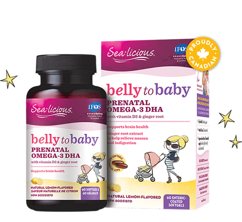 Belly to Baby Prenatal Omega-3