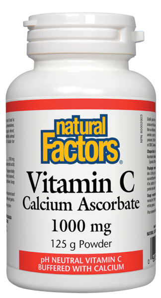 Natural Factors Calcium Ascorbate Powder