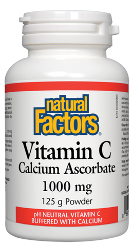 Natural Factors -  Vitamin C Calcium Ascorbate Powder