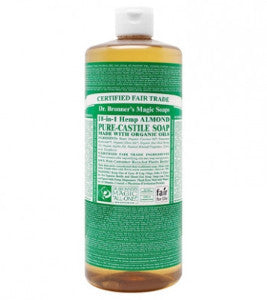 Dr. Bronner's Hemp-Almond Liquid Soap