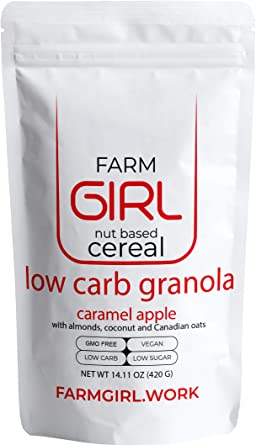 Farm Girl Low Carb Granola