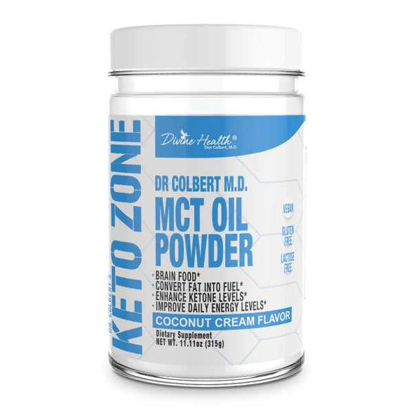 Keto Zone MCT Oil Powder (Coconut Flavor) 300g