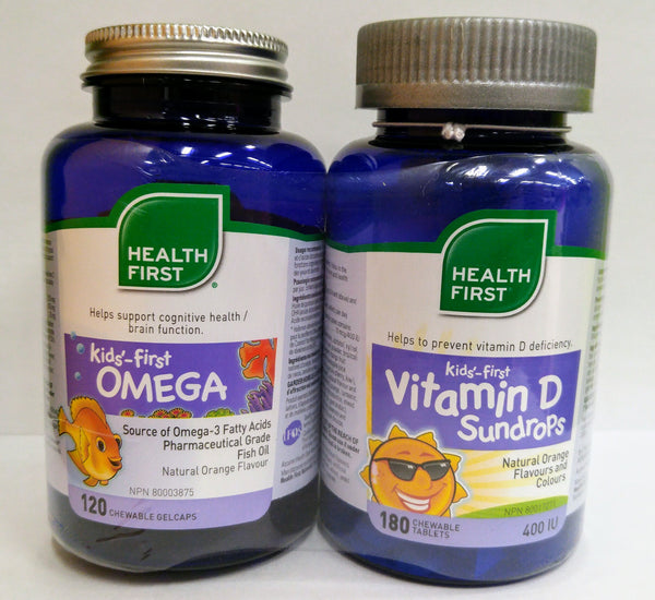 Health First Kids Vit D Omega