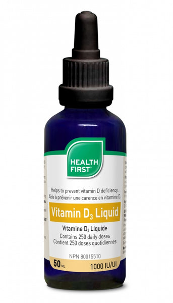 Health First Vitamin D3 Liquid