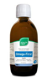 Health First, Omega First Fish Oil