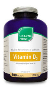 Health First Vitamin D3